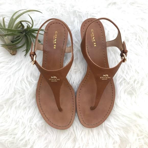 1657da3075ea Coach Shoes - Coach Women s Size 8 Vitalia Wedge Sandals